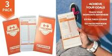 Portage Fitness and Workout Notebook – 4� x 8� Sturdy Exercise Journal for.