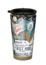 Embrace This HOLY MESS Acrylic Travel Coffee Mug, 16 oz, by LANG