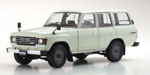 Toyota Land Cruiser 60 (White) 1980 1:18 Kyosho