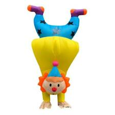 Handstand Clown Inflatable Costume Adult Funny Blowup Outfit Cosplay Party Dress