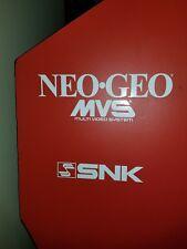 Neo Geo Arcade Game Vinyl Side Art Decal set