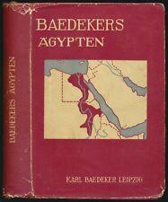 Karl Baedeker: Ägypten. Handbuch für Reisende (1928). Mit 21 Karten.