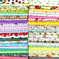 200 Lot Piece 4X4 in Cotton Quilt Fabric Colors Sewing Supplies Patchwork 2DaySH