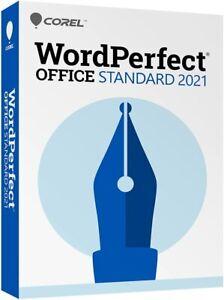 Corel WordPerfect Office Standard 2021 | Office Suite PC Disc  **New**