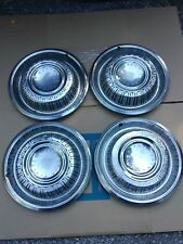 Set Of Four (4) Vintage 1969 Plymouth Barracuda Hubcaps