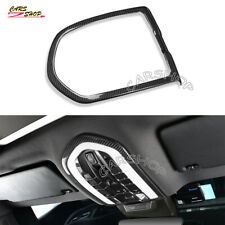 For Panamera Macan Cayenne Dry Carbon Fiber Interior Front Reading Light Trim