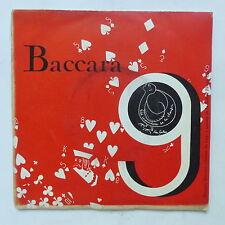 disque Baccara N°15 CHRISTIAN DIRSON CLAUDE ROYAN SOPHIE VOULLAND