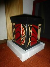 "Northwest Coast First Nation Metis/Cree Hand Carved- Bentwood ""Abstract"" Box!"