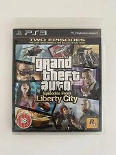 Grand THEFT AUTO: episodios de Liberty City-PS3 PlayStation 3. envío rápido