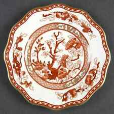 Coalport China Indian Tree Coral Scalloped 5 piece place setting