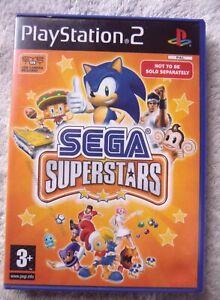 37480 Eye Toy Sega Superstars - Sony PS2 Playstation 2 (2004) SLES 52834