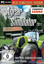 Agrar Simulator 2011 + Biogas Addon - Simulation NEU/OVP - WIN XP / VISTA / 7