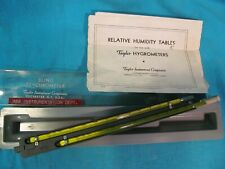 New listing Taylor Instruments Sling Psychrometer For Relative Humidity