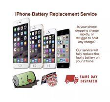 iPhone 4 5 6 7 8 S Plus Battery Repair / Replacement Service - Same day repair