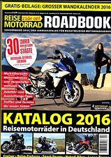 Reise Motorrad Ride On - Roadbook 2016