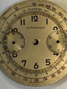 1940's Longines 13ZN Chronograph Dial Only