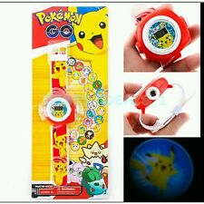 (12) Pokemon Electronic Digital  Pocket Monster 20 projections Watch For Child