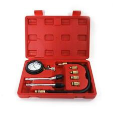 Spark Plug Cylinder Compression Tester Test Kit Professional Gas Engine+Tool Box