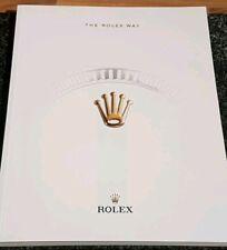 """Rolex """"The Rolex Way"""" official publication/magazine"""