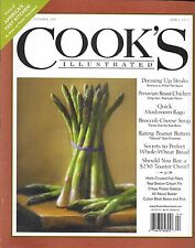 Cooks Illustrated magazine Steaks Roast chicken Broccoli cheese soup Recipes