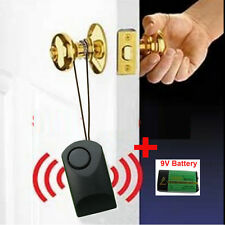 W/ 9V battery door handle alarm door touch alarm 120 dB anti-theft scaring alarm