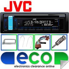 Ford Ka Gris Kit de montaje con Jvc Auto Cd Mp3 Estéreo Rds Sintonizador Usb Aux Iphone