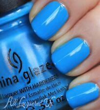 CHINA GLAZE nail lacquer polish with hardeners in 1152  sunday funday