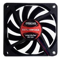 Evercool 70mm x 10mm Cooling Fan EC7010M12CA
