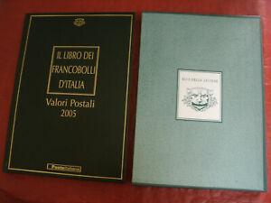 Il Libro dei Francobolli d'Italia - Valori Postali Anno 2005 BUCA DELLE LETTERE