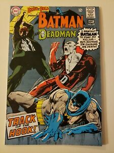 The Brave And The Bold #79. DC Sept 1968. Batman Deadman Neal Adams A. FN+ 6.5
