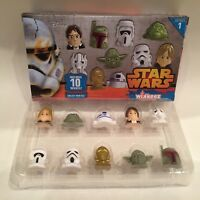 New Star Wars Wikkeez, Series One, Box Of 10 Collect, Trade & Play, 1 Starwars