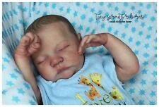 Adorable Reborn Bonnie Brown LEVI Baby Boy *TINY*SPROUTS*REBORNS*