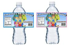 20 BERENSTAIN BEARS PERSONALIZED BIRTHDAY PARTY FAVORS WATER BOTTLE LABELS WRAPS