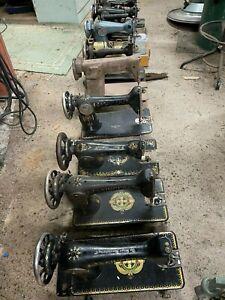 9 antique sewing machines