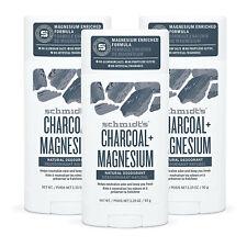 Schmidt's Natural Deodorant | Charcoal + Magnesium | 3.25 oz | 3 Sticks