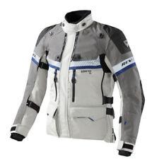 Giacche grigio GORE-TEX con imobottitura rimovibile per motociclista