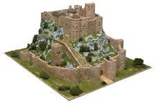 Aedes 1007. Maqueta Castillo de Loarre (Huesca). Construccion de ladrillos
