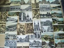 30xVintage1900's-1925 French Jersey Belgium + 9xTown life Phil May Postcards