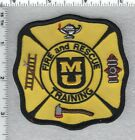 University of Missouri Fire and Rescue Training Shoulder Patch