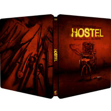 Hostel - Limited Edition Steelbook Uncut-Unrated  Region Free, NEW