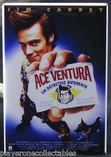 Ace Ventura Pet Detective Movie Poster - Fridge / Locker Magnet. Jim Carrey