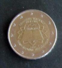 """2 Euro Sonder-Münze """"F"""" Römische Verträge Prägejahr 2007 aus Umlauf"""