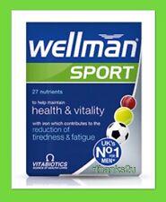 Vitabiotics Wellman Sport - 30 Tablets NEW