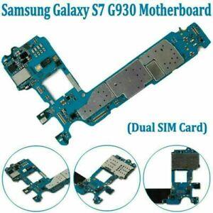Main Logic Board Motherboard NEW For Samsung Galaxy S7 G930FD 32GB Unlocked HYA