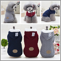Hot Pet Coat Dog Jacket Winter Warm Clothes Puppy Cat Sweater Jumpsuit Apparel