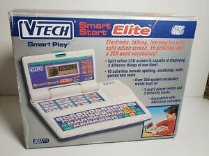 Vintage Vtech Smart Start Elite Computer with Box