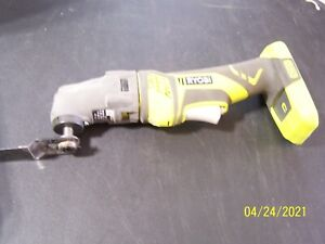Ryobi Used 18V Cordless ONE+ Multi Tool With Attachments P246- No Battery