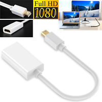 Super-Speed Thunderbolt Displayport MDP To HDMI Cable For Mac Macbook Pro Air US