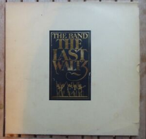 THE BAND - THE LAST WALTZ K66076 3x VINYL LP  SET + 12 PAGE BOOKLET 1978