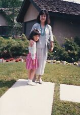 WOMAN AND CHILD Girl FOUND PHOTOGRAPH Color FREE SHIPPING Sweet Original  92 2 T
